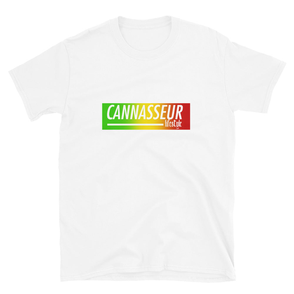 Rasta Cannasseur Lifestyle - Short-Sleeve Unisex T-Shirt