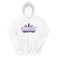 Load image into Gallery viewer, PURPLE CANNASSEUR! Unisex Hoodie