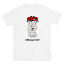 Load image into Gallery viewer, White Wolf - Cannasseur Radio - Short-Sleeve Unisex T-Shirt