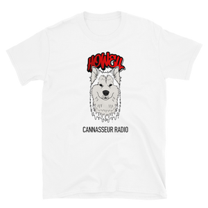 White Wolf - Cannasseur Radio - Short-Sleeve Unisex T-Shirt