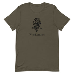 Who Extracts - Short-Sleeve Unisex T-Shirt