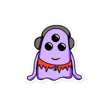 Load image into Gallery viewer, Purple Grateful Squish - Bubble-free stickers