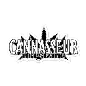 Cannasseur Magazine - Bubble-free stickers