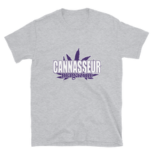 Load image into Gallery viewer, PURPLE CANNASSEUR! Short-Sleeve Unisex T-Shirt
