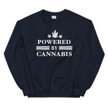 Load image into Gallery viewer, Powered by Cannabis - Unisex Sweatshirt