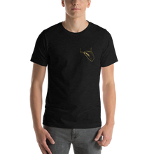 Load image into Gallery viewer, Pocket Cannasseur in Gold - Short-Sleeve Unisex T-Shirt