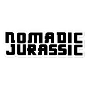Nomadic Jurassic - Bubble-free stickers
