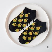 Load image into Gallery viewer, Casual Men Women Cotton Anklet Socks Marijuana leaf Short Weed Sock High Quality Vintage Harajuku Ladies Couple Woman Socks