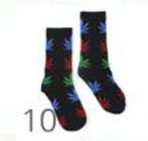 1 pair Men Maple leaf Socks fashion Weed Socks Long Skateboard hiphop sock Meias women unisex Harajuku Hemp Calcetines