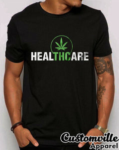 2019 Fashion Thc Heal Medical T-Shirt Healthcare Weed Cannabis Shirt. Unisex Tee