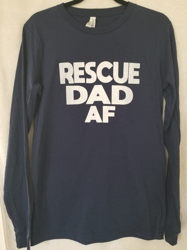 Rescue DAD AF Unisex Longsleeve T-Shirt (2 Colors)