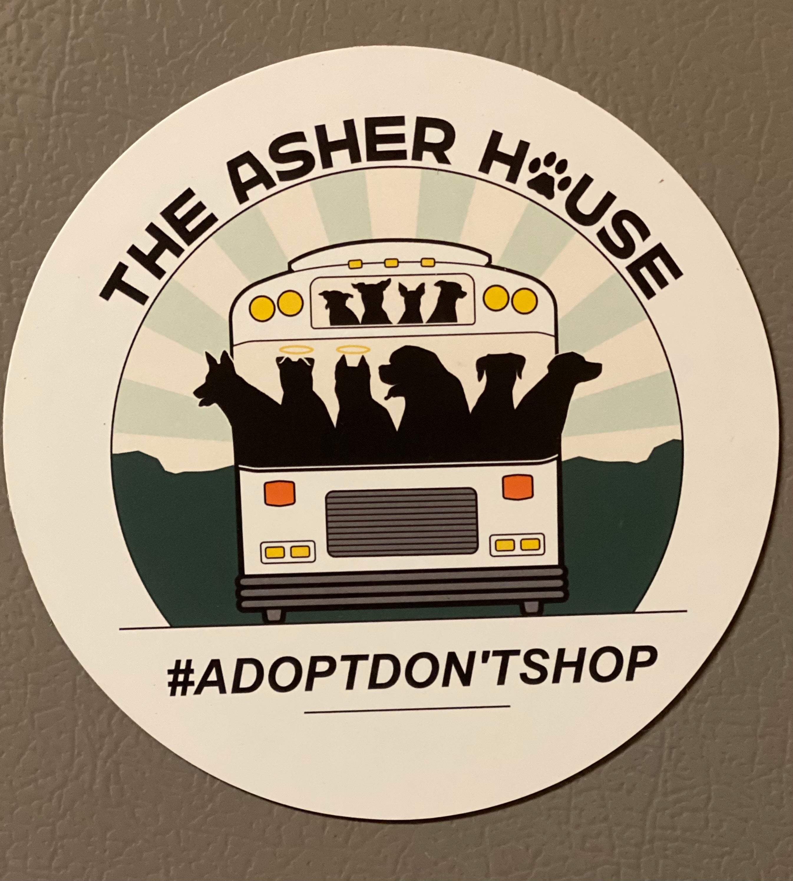 Asher House Magnet