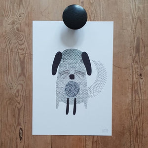 A3 ART POSTER LITTLE DOG