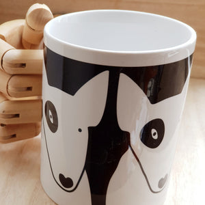 BULL TERRIER CERAMIC MUG IN BOX