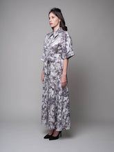 Load image into Gallery viewer, Palm Sunday Oversized Shirt Dress in Grey - capsulebyedith
