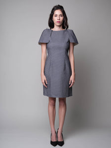 Have Little Wings Will Fly Sheath Dress in Navy - capsulebyedith