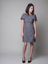 Load image into Gallery viewer, Have Little Wings Will Fly Sheath Dress in Navy - capsulebyedith
