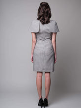 Load image into Gallery viewer, Have Little Wings Will Fly Sheath Dress in Grey - capsulebyedith
