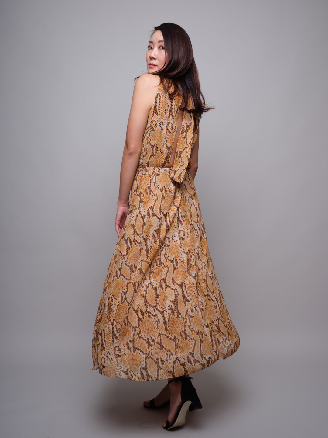 The Snake Print Dress - capsulebyedith