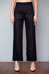 Split Hem Pants (in Black, Red, Saffron Yellow)
