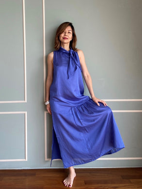Perfect Day II Maxi Dress in Azure Blue