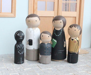 Mini Me Custom Family of 5