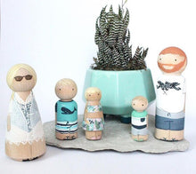 Load image into Gallery viewer, Mini Me Custom Family of 5