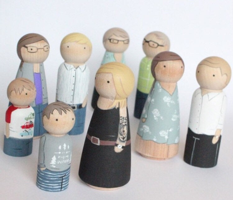 Mini Me Custom Family of 8