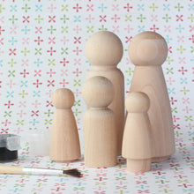 Load image into Gallery viewer, DIY Peg Doll Kit