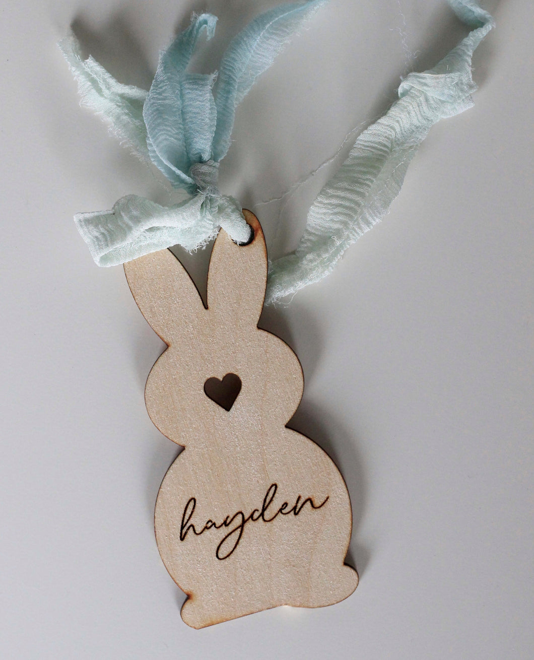 Easter Bunny Custom Tag
