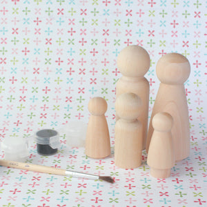 DIY Peg Doll Kit