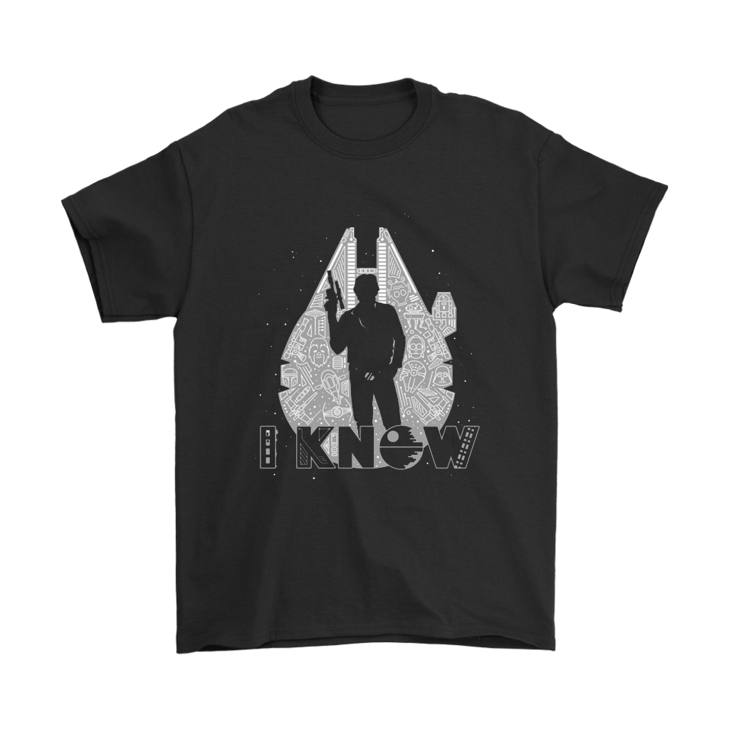 Han Solo I Know Star Wars Quote Shirts Teeqq Store