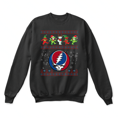 Christmas With The Dead Jingle Bears Grateful Dead Ugly Sweater