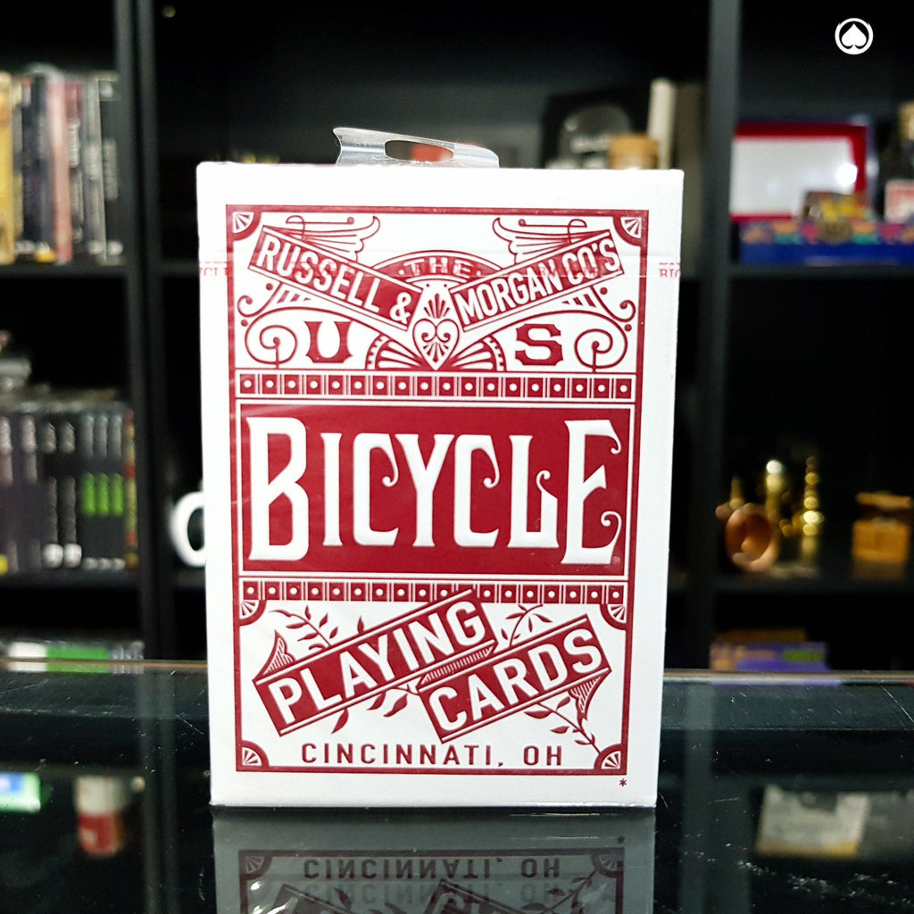 Bicycle Chainless Playing Cards by US Playing Cards - Roja