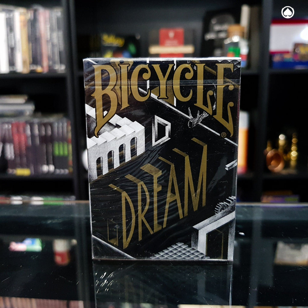 Bicycle Dream Playing Cards by Card Experiment - Negra/Dorada