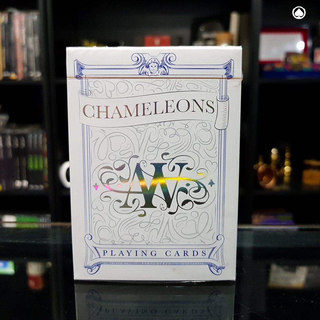 Chameleon Playing Cards by Expert Playing Cards - Azul