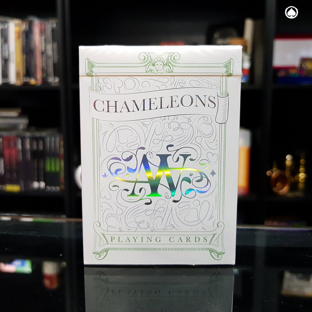 Chameleon Playing Cards by Expert Playing Cards - Verde