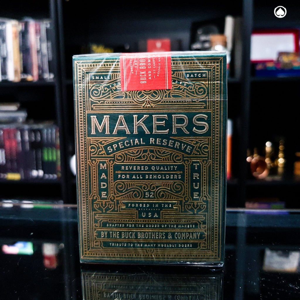 MAKERS Playing Cards by Dan and Dave
