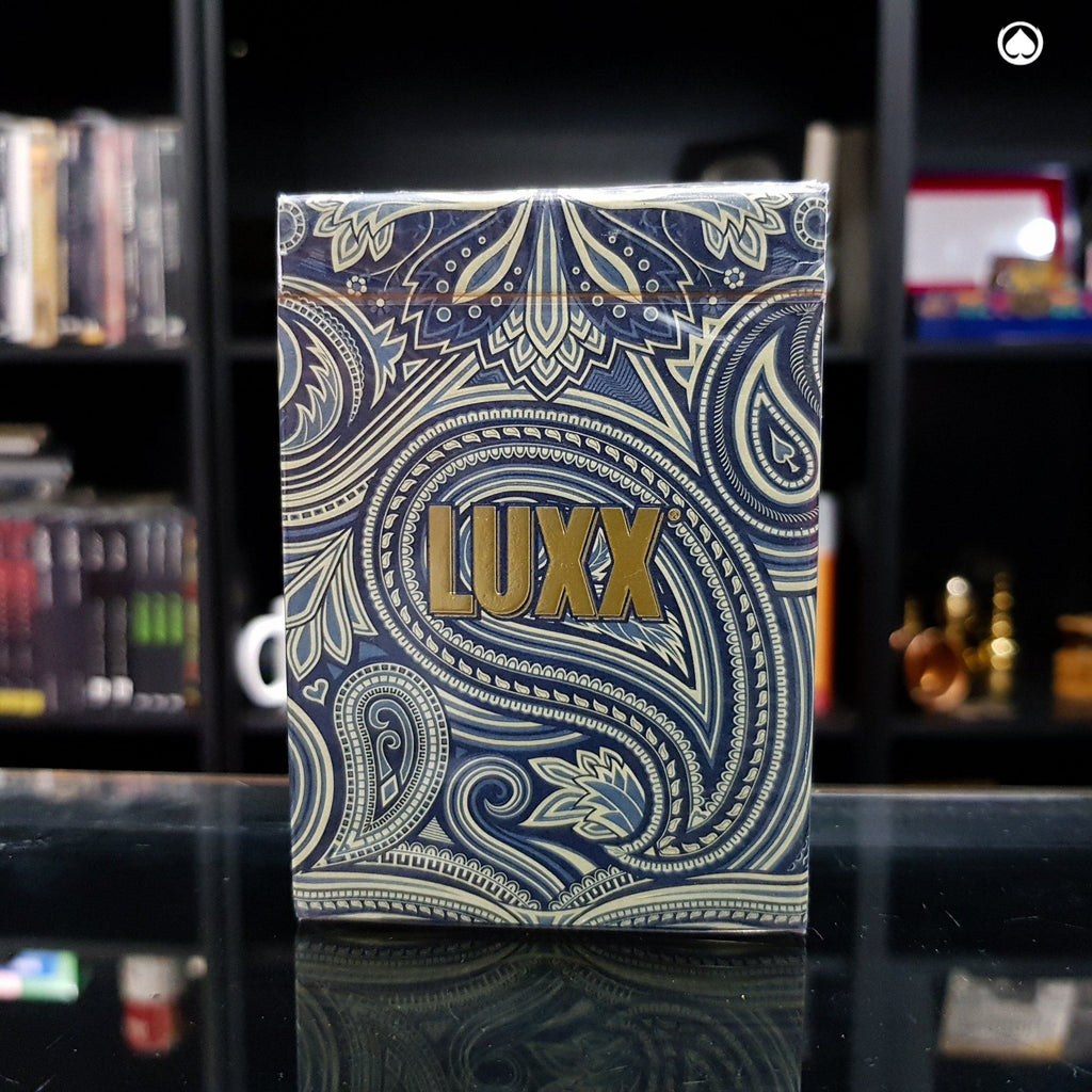 LUXX Palme Playing Cards - Azul