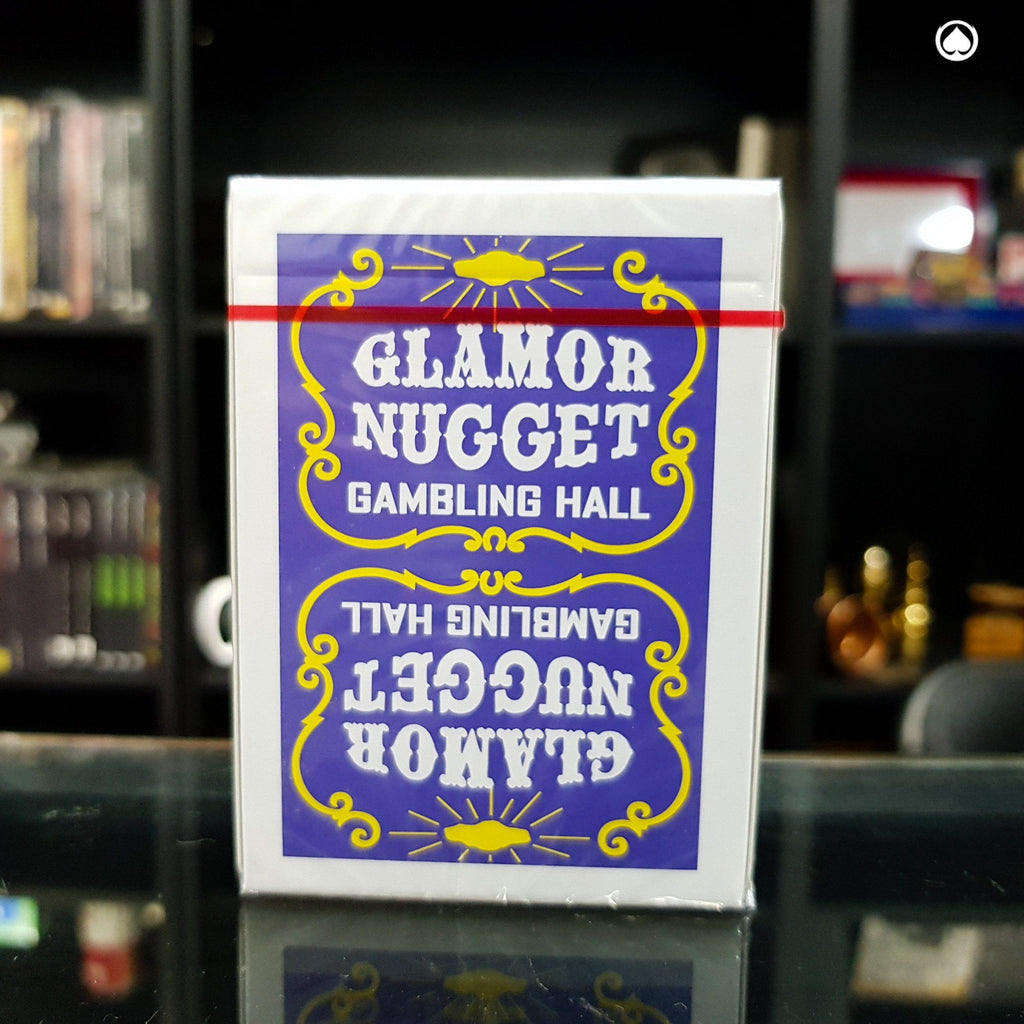 Glamor Nugget Limited Edition Playing Cards - Morada