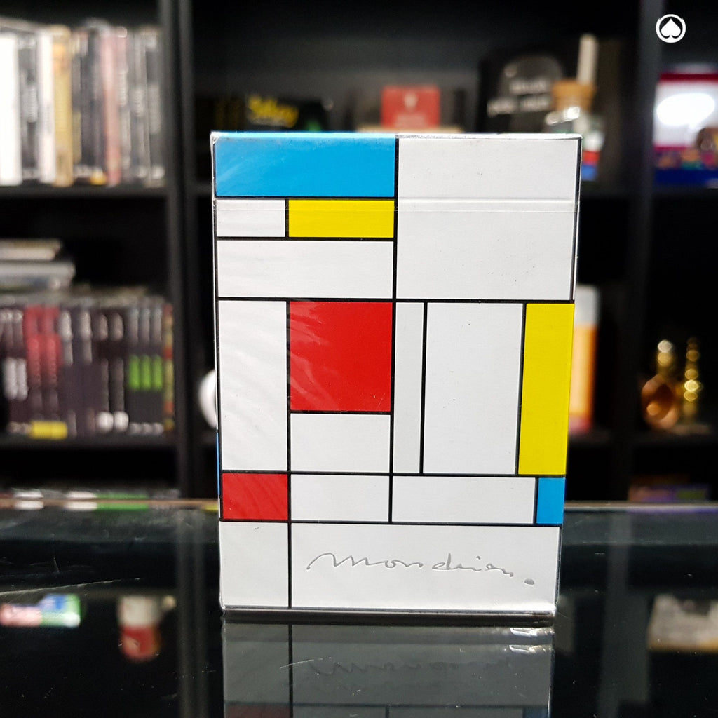 Mondrian Playing Cards Designed by Nicholas Earl and Toomas Pintson
