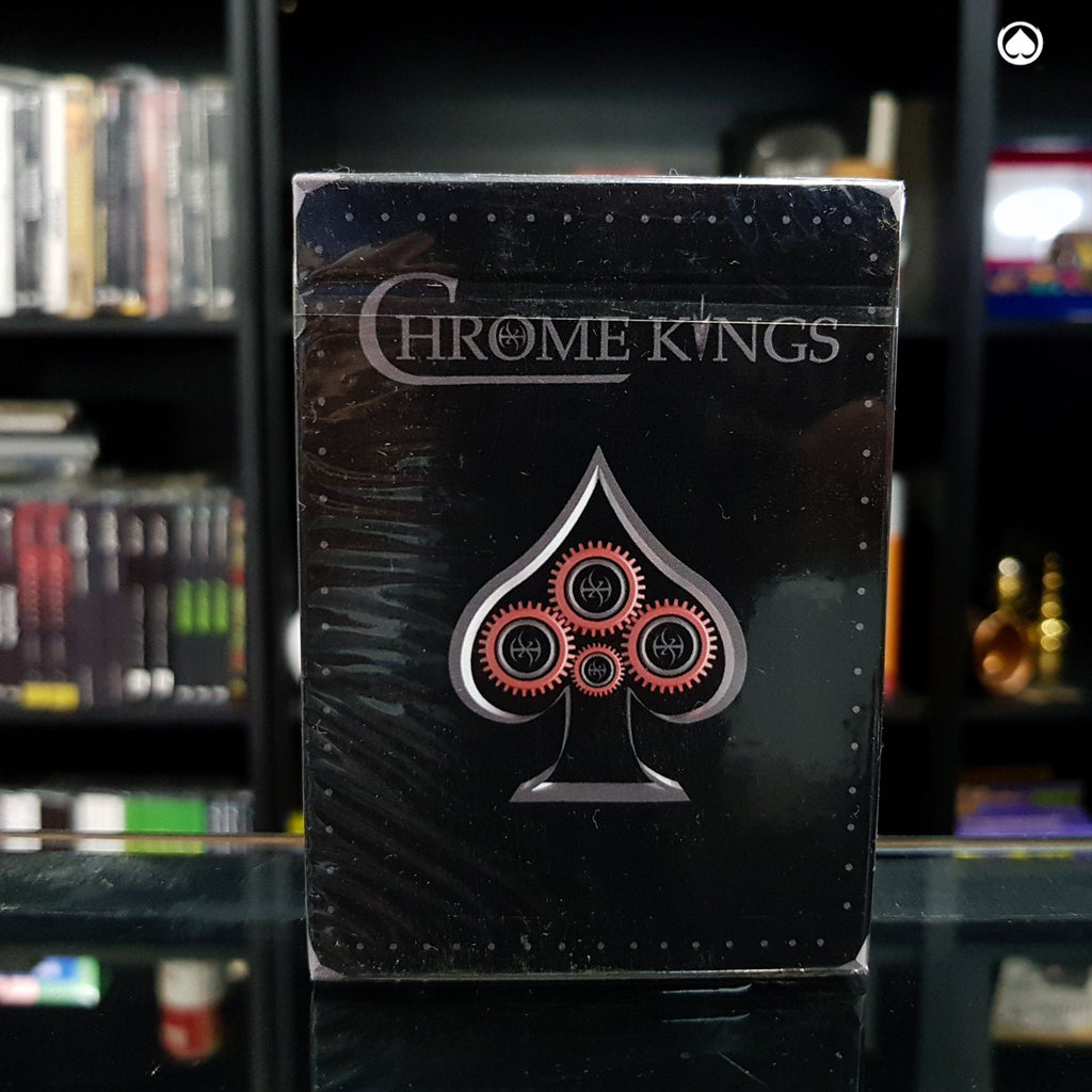 Chrome Kings Limited Edition Playing Cards - Player Edition -  by De'vo vom Schattenreich and Handlordz