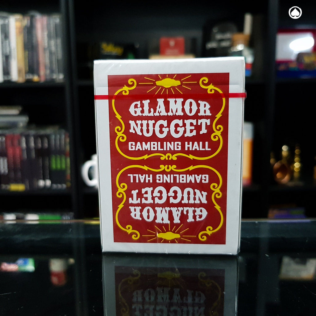 Glamor Nugget Limited Edition Playing Cards - Rojo Oscuro