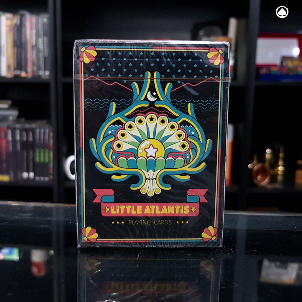 Little Atlantis Night Playing Cards