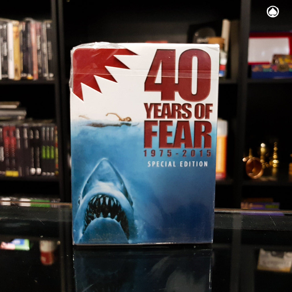 Bicycle 40 Years of Fear Jaws Playing Card by Crooked Kings - Edicion especial
