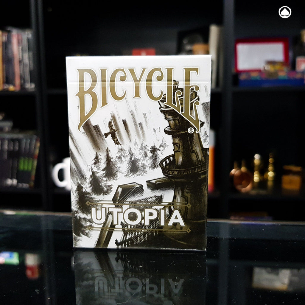 Bicycle Utopia Gold Playing Cards