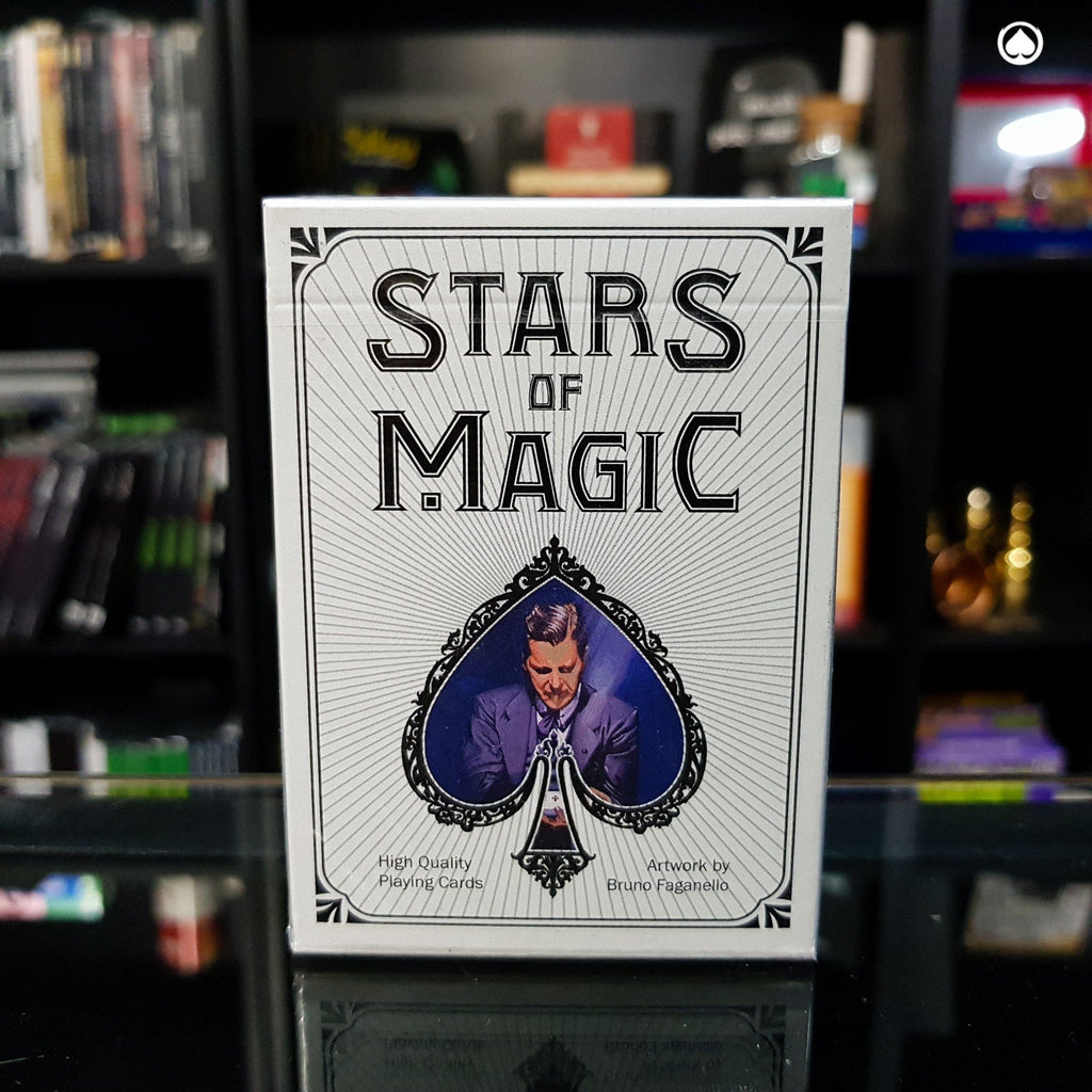 Stars of Magic Playing Cards - Blanca