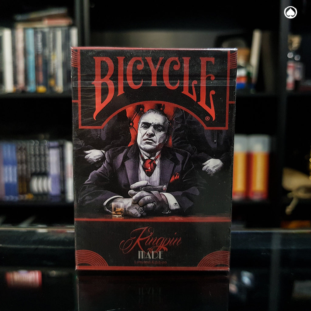 Bicycle Made Kingpin Deck by Crooked Kings Cards - Ed.Limtiada
