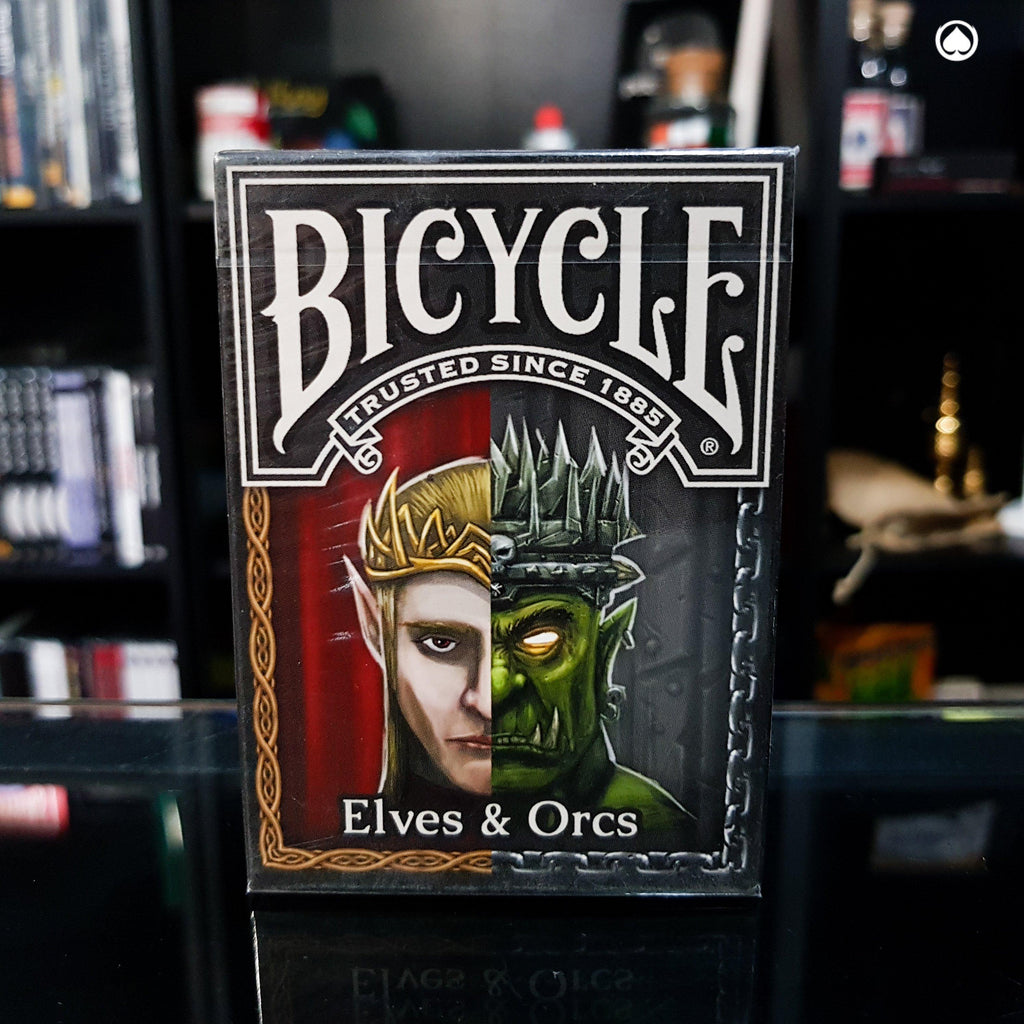 Bicycle Elves and Orcs Deck by Nat Iwata