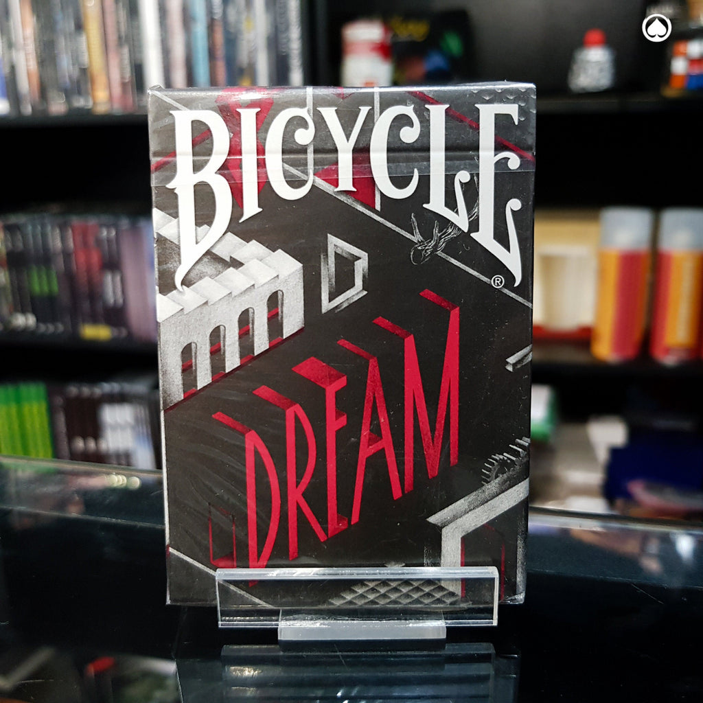 Bicycle Dream Playing Cards by Card Experiment - Plateada